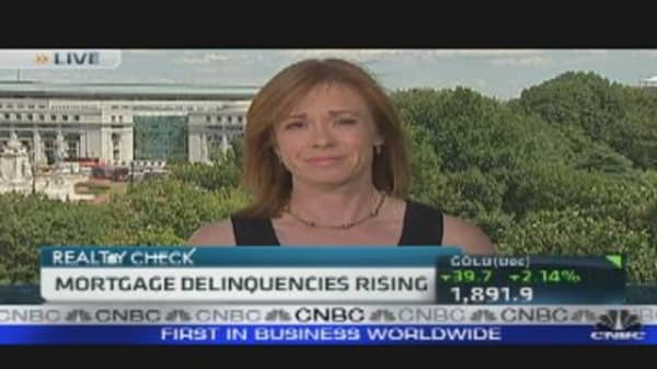 Mortgage Delinquencies Rise