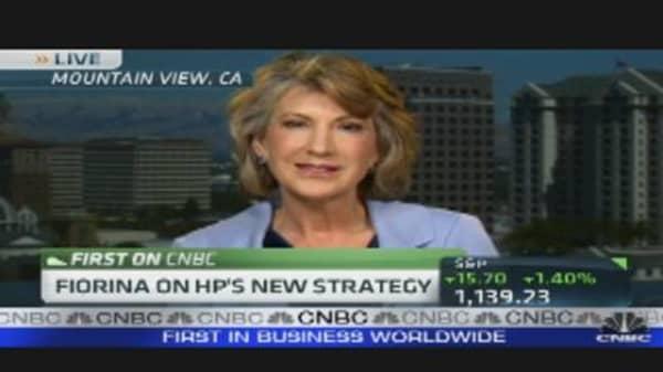 Fiorina on HP's New Strategy