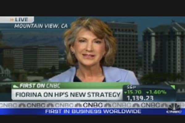 Fiorina on HP's New Strategy