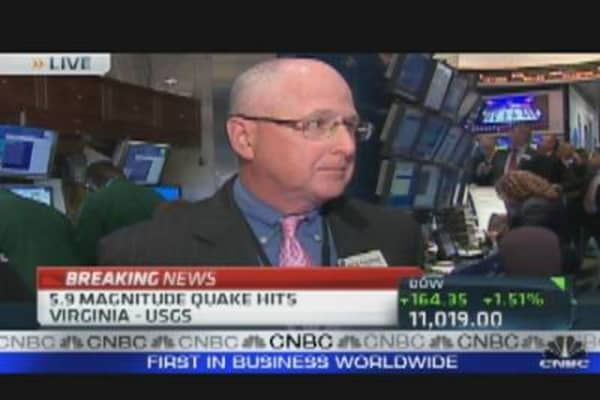 NYSE: No Impact After 5.9 Earthquake