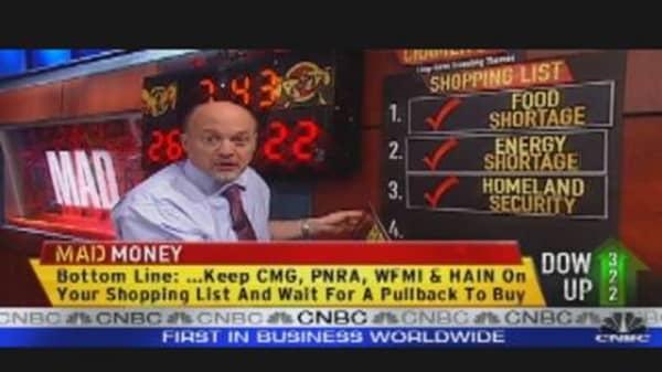 Cramer on Food Retail Stocks