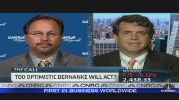 Traders Optimistic Bernanke Will React?