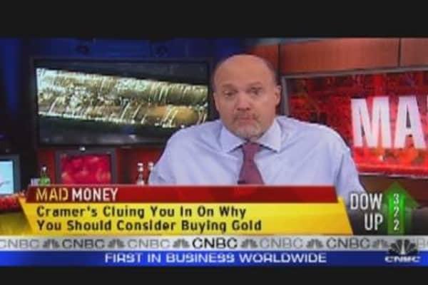 Gold = Bubble Trouble?