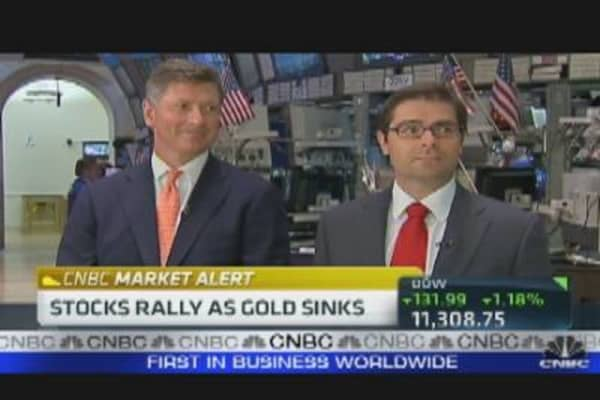 Making a Case for Gold & Banks