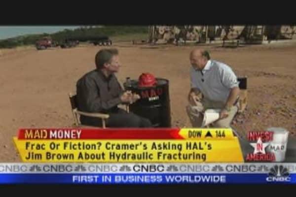 Haliburton's Brown Talks to Cramer