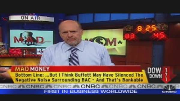 Banking on Buffett?