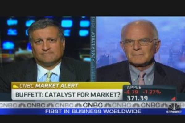 Buffett: Catalyst for Market?