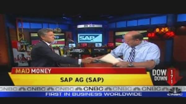 SAP CEO Talks to Cramer