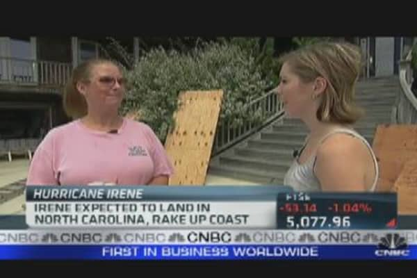 Residents in N.C. Prep for Irene