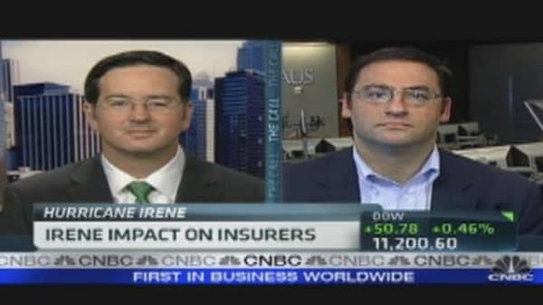 Irene Impact on Insurers