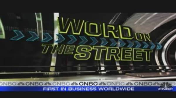 WOTS Now: Financials Lead Rally