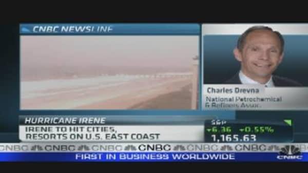 Refiners Prepare for Irene