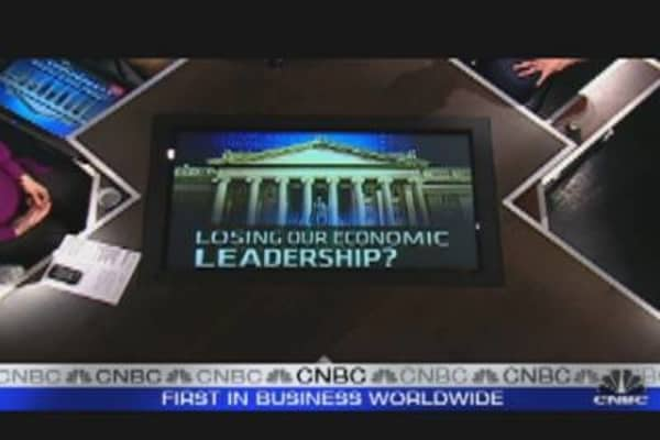Losing Our Economic Leaders