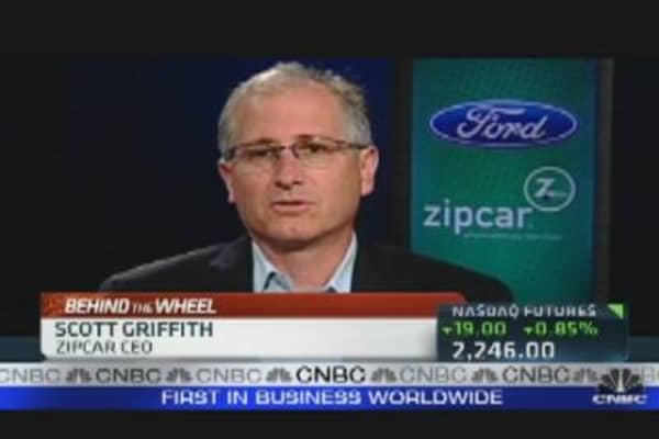 Car Pooling: Ford & Zipcar Partnership