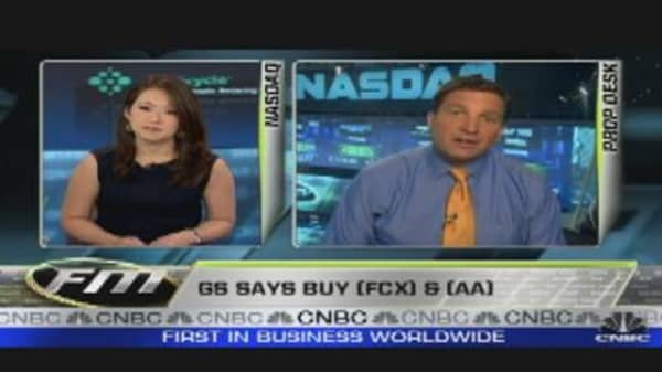 Goldman says Buy FCX, AA