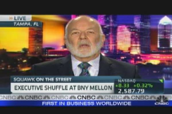 Executive Shuffle at BNY Mellon