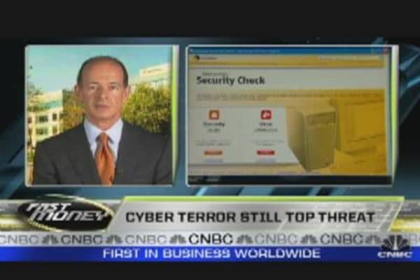 Cyber Terror Still Top Threat?