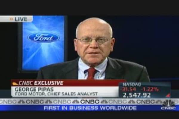 Ford's Pipas Talks Car Sales