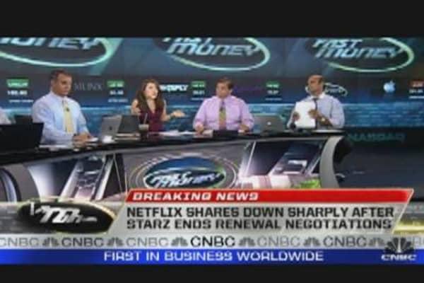 Netflix Shares Fall 8%