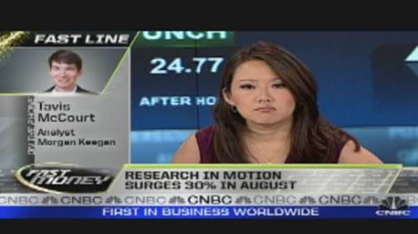 RIMM Has Strong August: Analyst