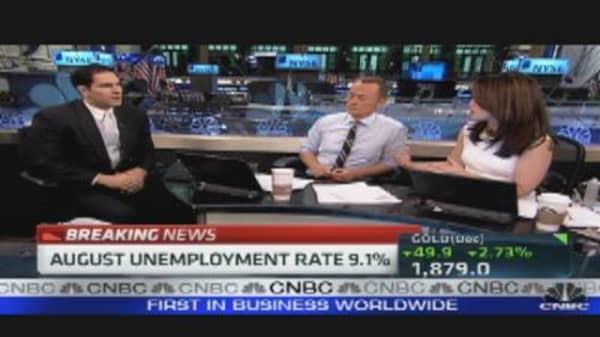 Data Shows Employment Stalled