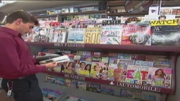 Magazines Move Online