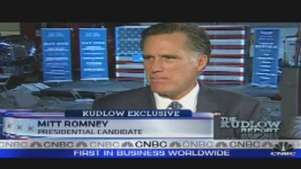 One-On-One with Mitt Romney