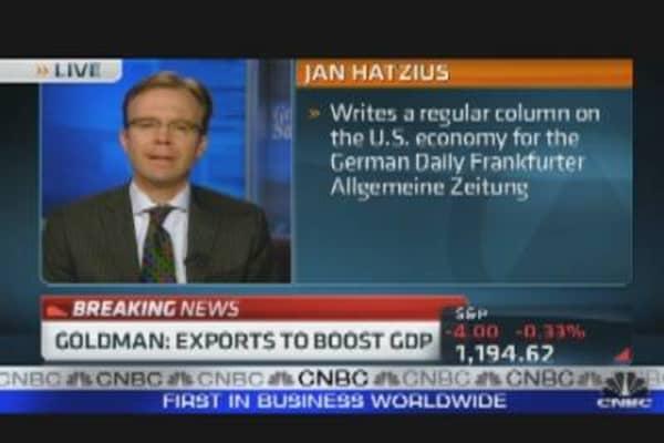 Goldman Economist: Chance of Recession?