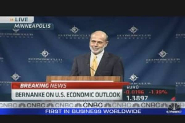 Bernanke On U.S. Economic Outlook