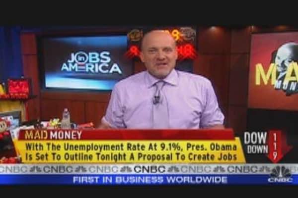 Cramer's Take On Jobs