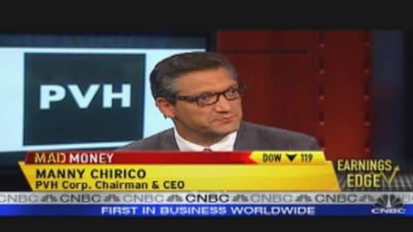 PVC CEO: Sales Up, Stock Down