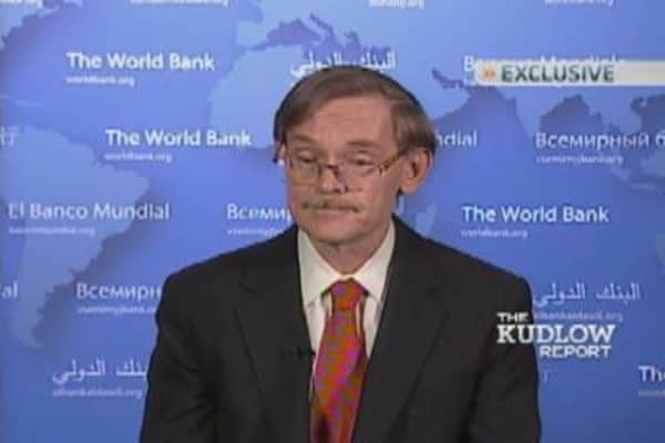 World Bank President Robert Zoellick