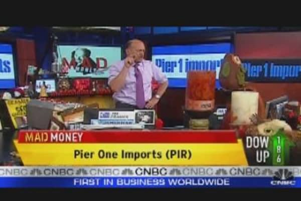 Cramer: Pier One Imports CEO