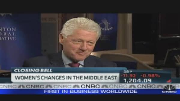 Pres. Clinton One-On-One