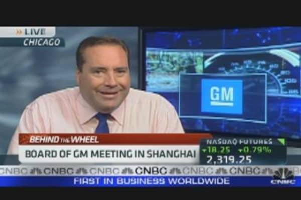 GM Looks to China