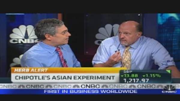 Cramer & Greenberg Spar Over Chipotle