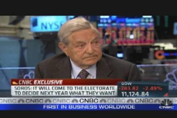 Soros on Eurozone Crisis
