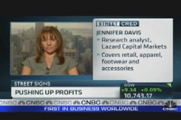 Pushing Up Profits in Retail Stocks