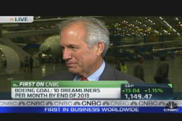 Boeing CEO on 787 Profit Potential