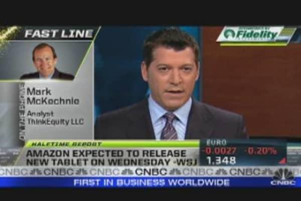Tablet Wars: Amazon vs. Apple
