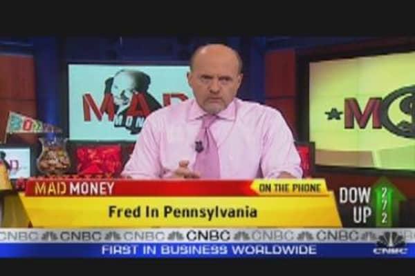 Mad Money Markets: Don't Panic!