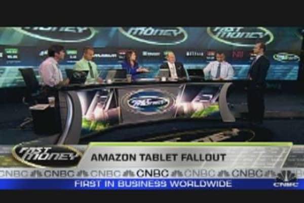 Amazon Sells Off Despite Tablet Hopes