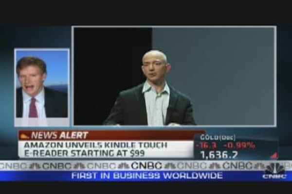 Amazon Unveils Kindle Touch & Fire Tablet