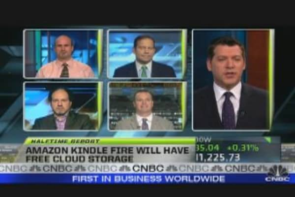 Kindle Fire Sparks Amazon Rally