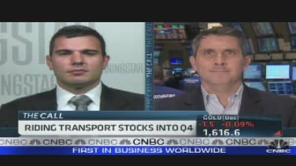 Riding Transport Stocks Into Q4
