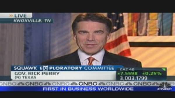 Gov. Rick Perry: Building Jobs