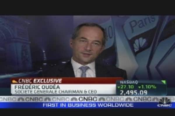 SocGen's CEO on Rumors