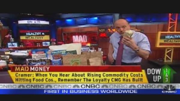 Cramer's Healthy Stock Choices
