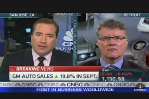 GM Beats Sales Expectations
