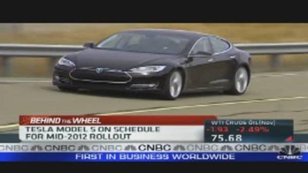 Tesla's Big Bet on Electric Cars